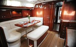 Christal Sailing | intérieur du voilier
