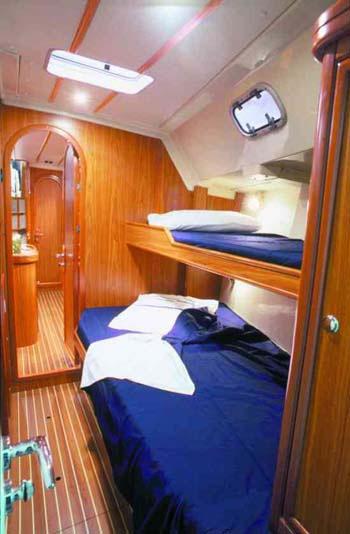 Christal Sailing | Cabine avant Mario