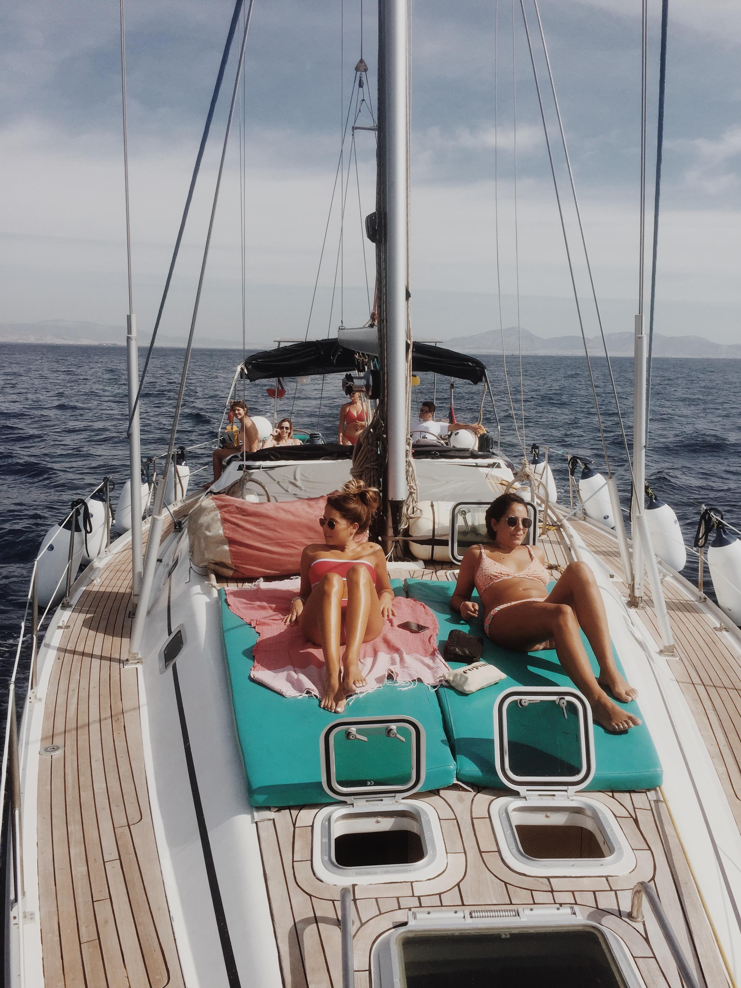 Croisière îles grecques avec skipper