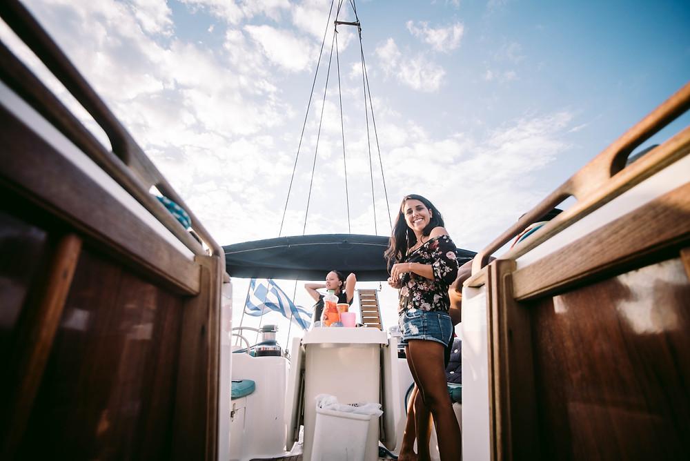 Christal Sailing | s'organiser pour vivre dans l'espace restreint du bateau