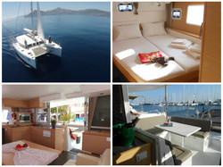 Le confort du catamaran