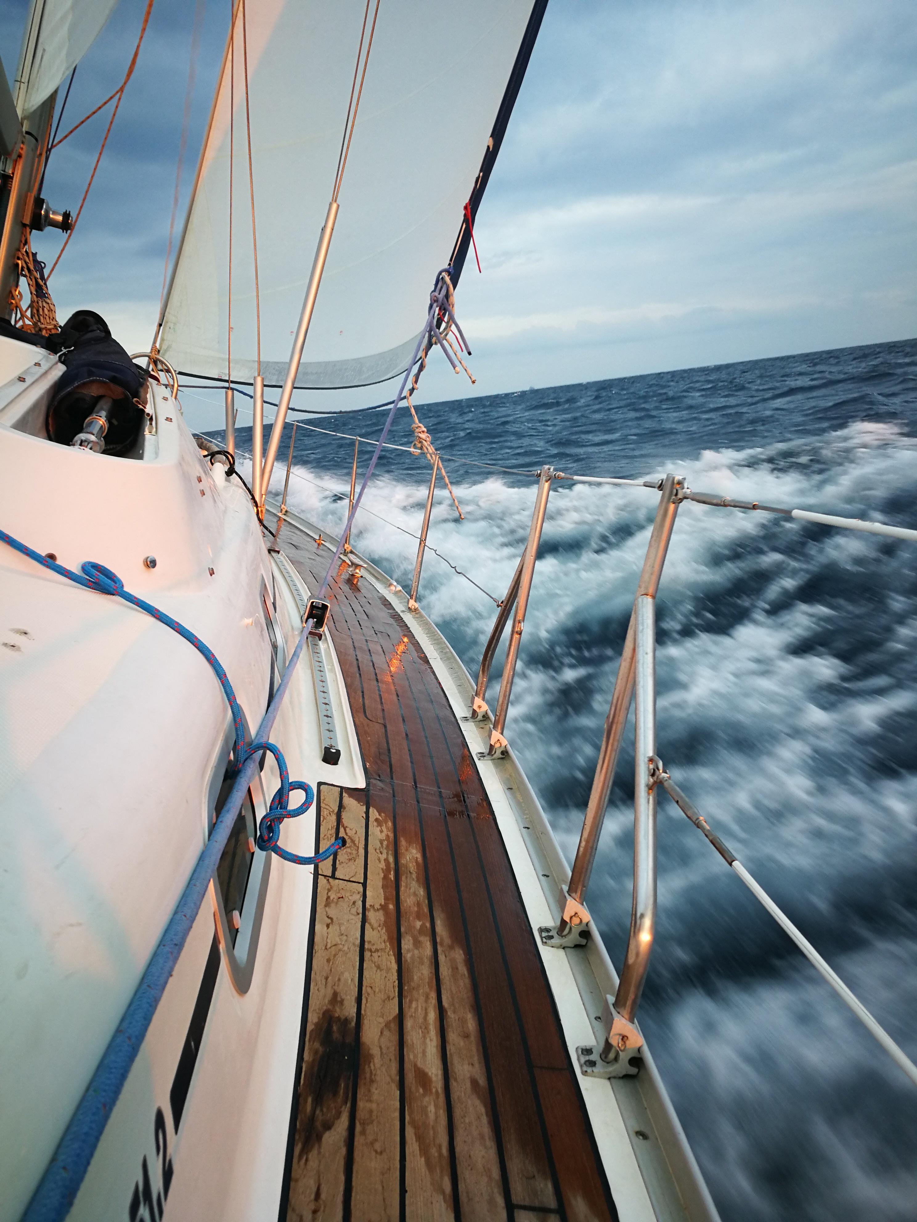 La navigation en voilier