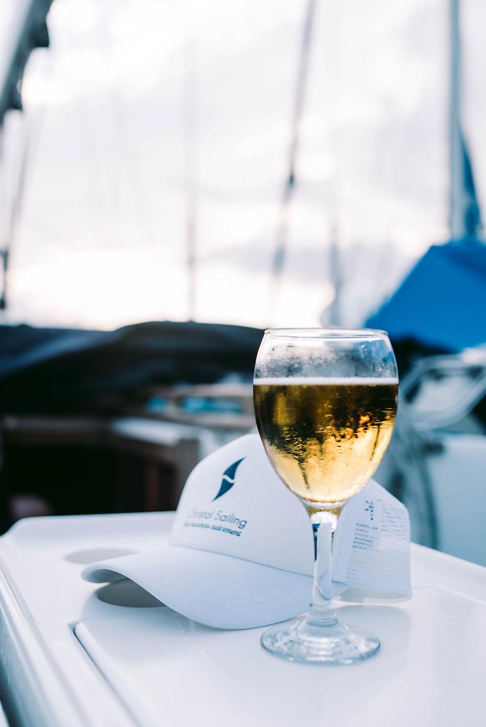 Christal Sailing | le prix des repas et boissons