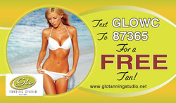 Glo Tanning Cards