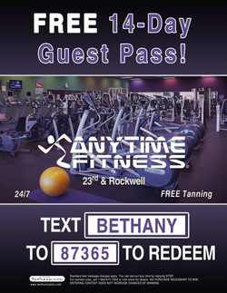 Anytime Fitness Flyer