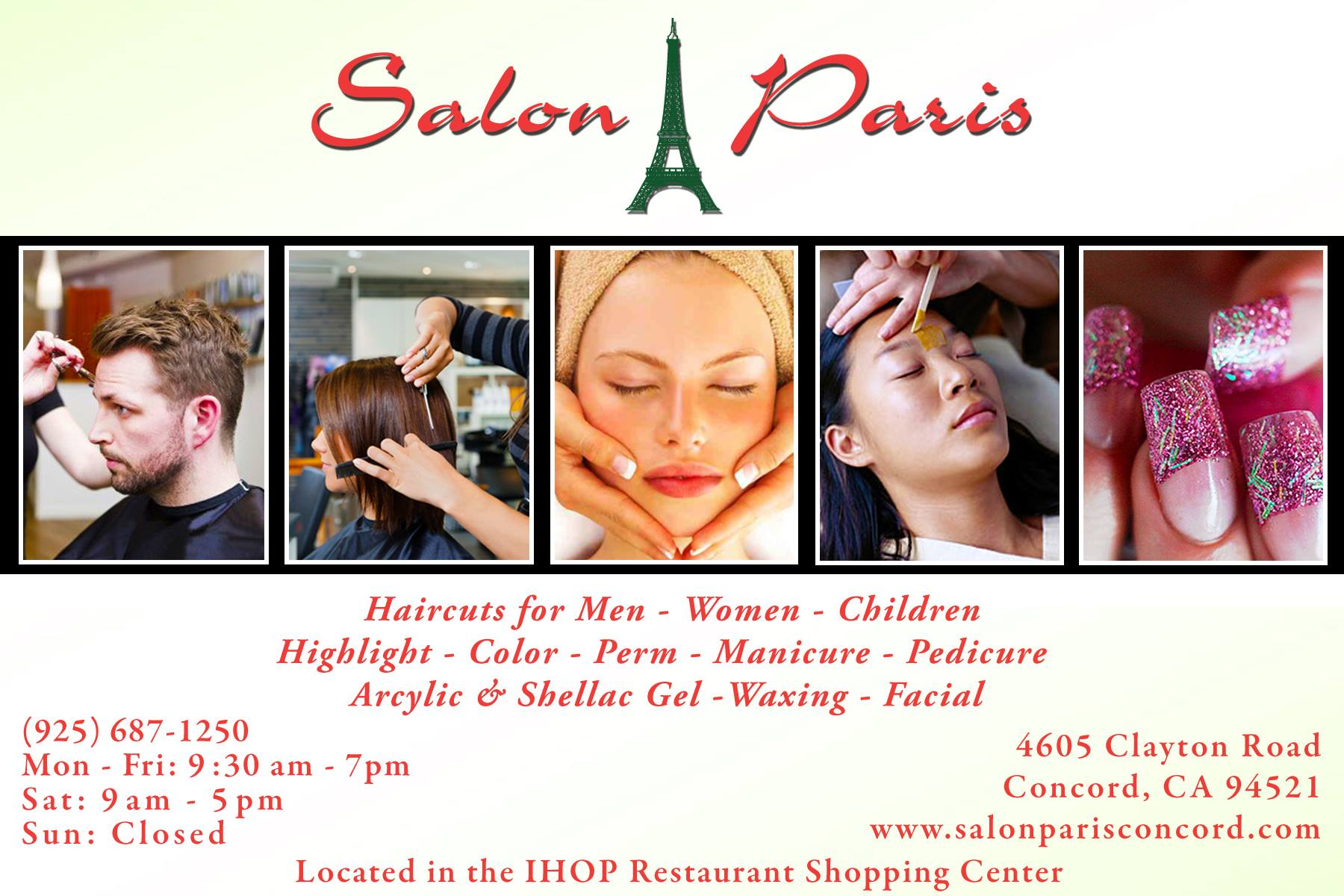 Salon Paris Postcard