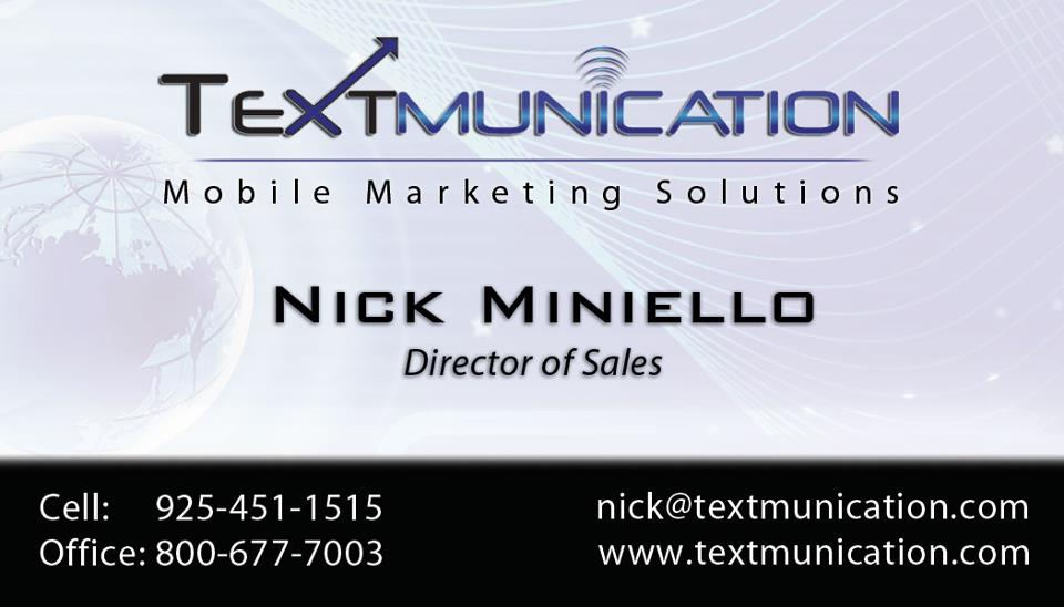 Textmunication Business Card