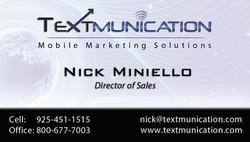 Textmunication Business Card