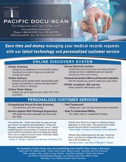 Pacific Docu-Scan Flyer