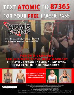 Atomic Boxing Flyer