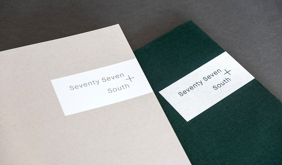 Seventy Seven South – Graphic Design