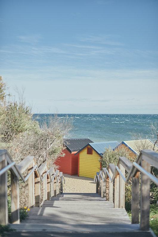 Bay Trail & Brighton Bathing Boxes