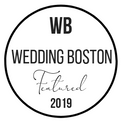 Featued on the Wedding Boston blog