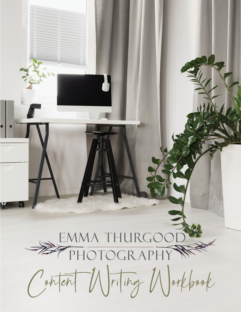 copywriting workbook for photographers