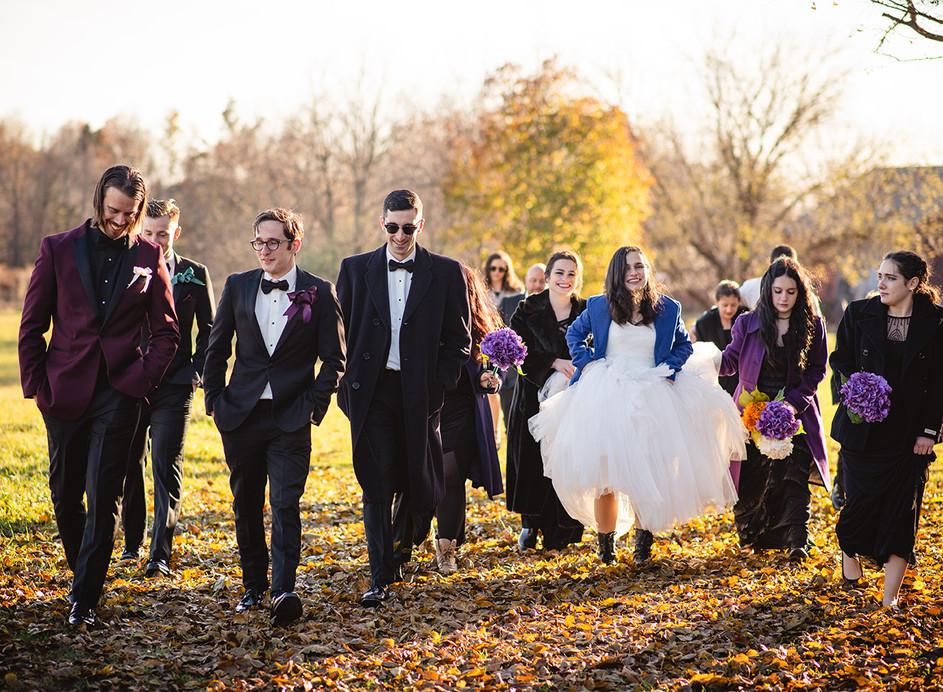 fun connecticut elopement party photo