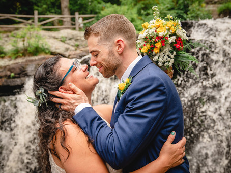 Waterfall Wedding Elopement | Brianna & Tom