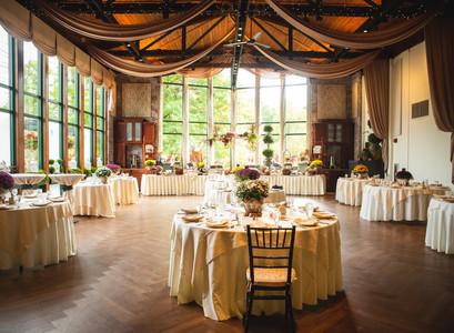 Pond House Cafe wedding banquet room