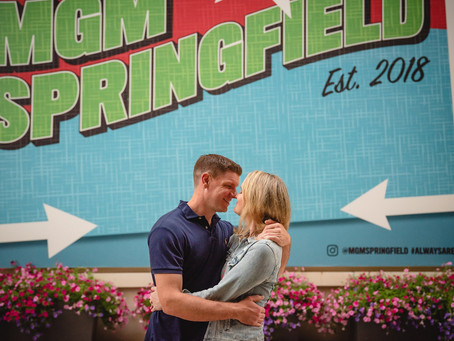 MGM Springfield Casino Pictures | Christine & Brett