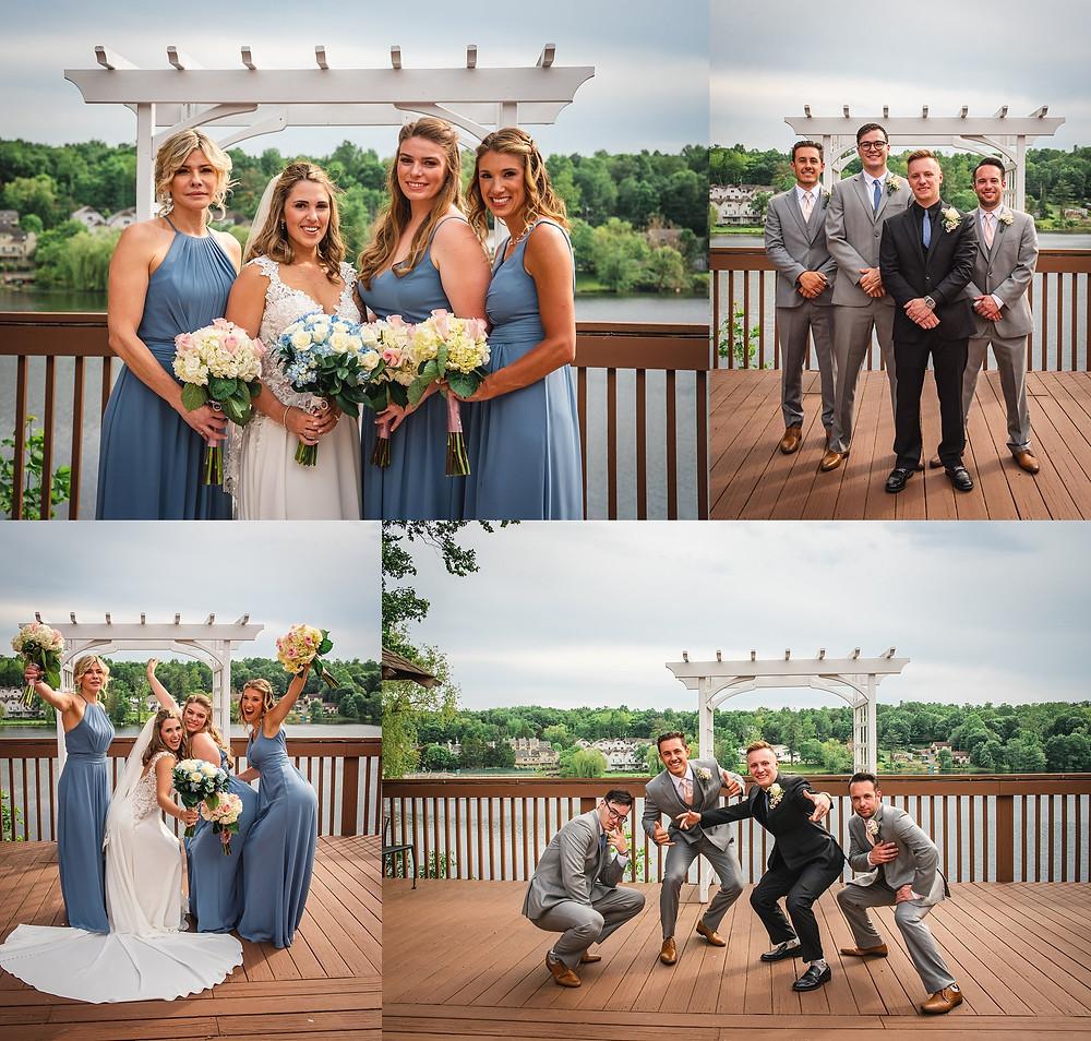 CT Wedding Photographer Bridal Party Portraits