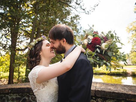 Pond House Cafe Wedding at Elizabeth Park in Hartford, CT