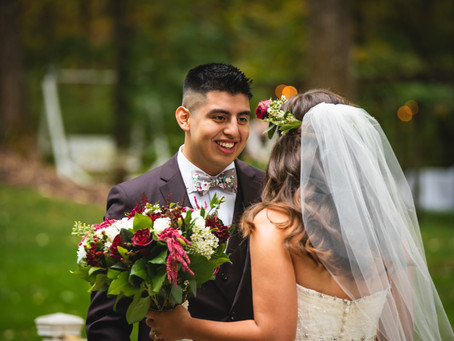 Top 3 Reasons You Should Do A First Look For Your Wedding | CT WEdding Photographer