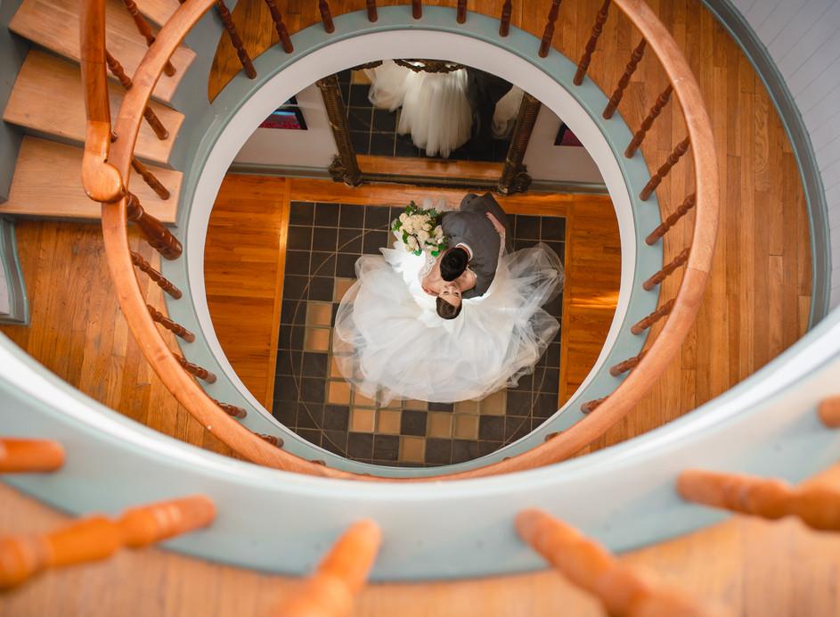 Connecticut wedding photographer at Mount Crescent House Norwich