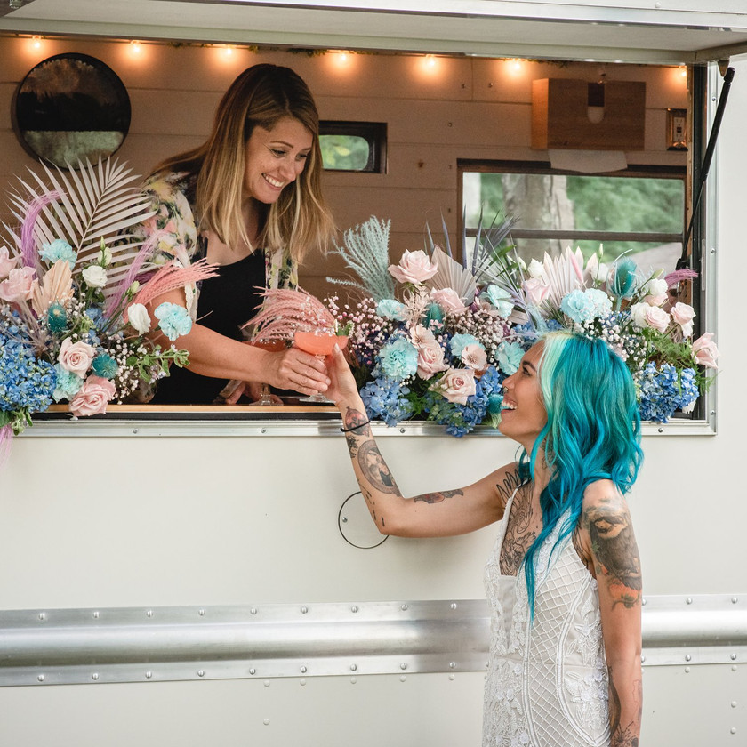 Queenie's Cocktail Bar is the perfect addition to your Connecticut wedding
