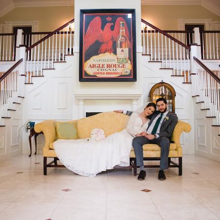Intimate Copper Beech Inn Wedding | Essex, Connecticut