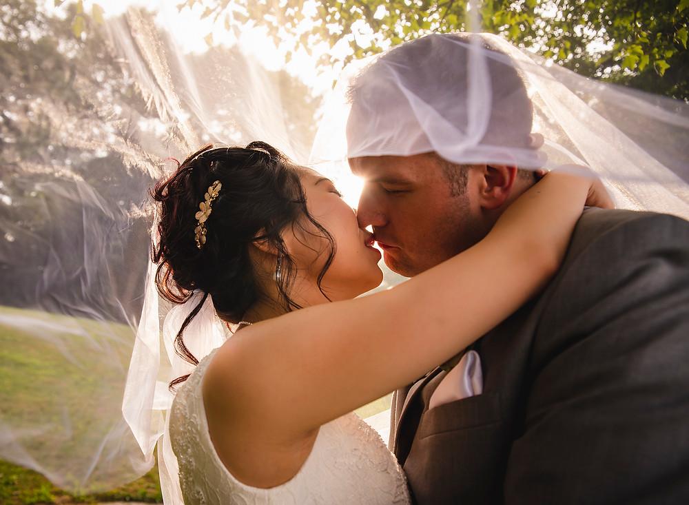 Glastonbury Hills Country Club Wedding Wedding Couple Portrait