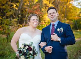 fall wedding at Ski Butternut in Great Barrington Massachusetts