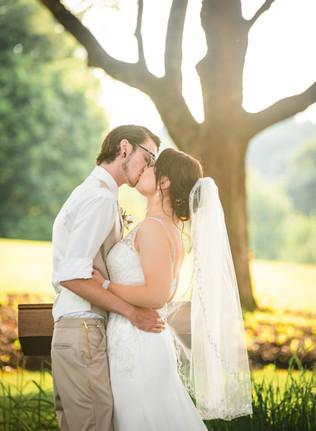 Spencer Country Inn wedding ceremony