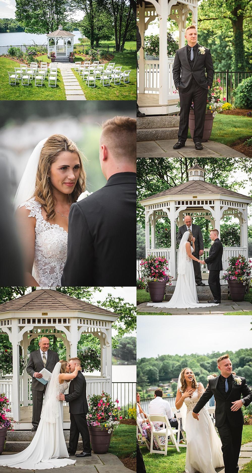 wedding at Anthony's Lake Club in Danbury CT