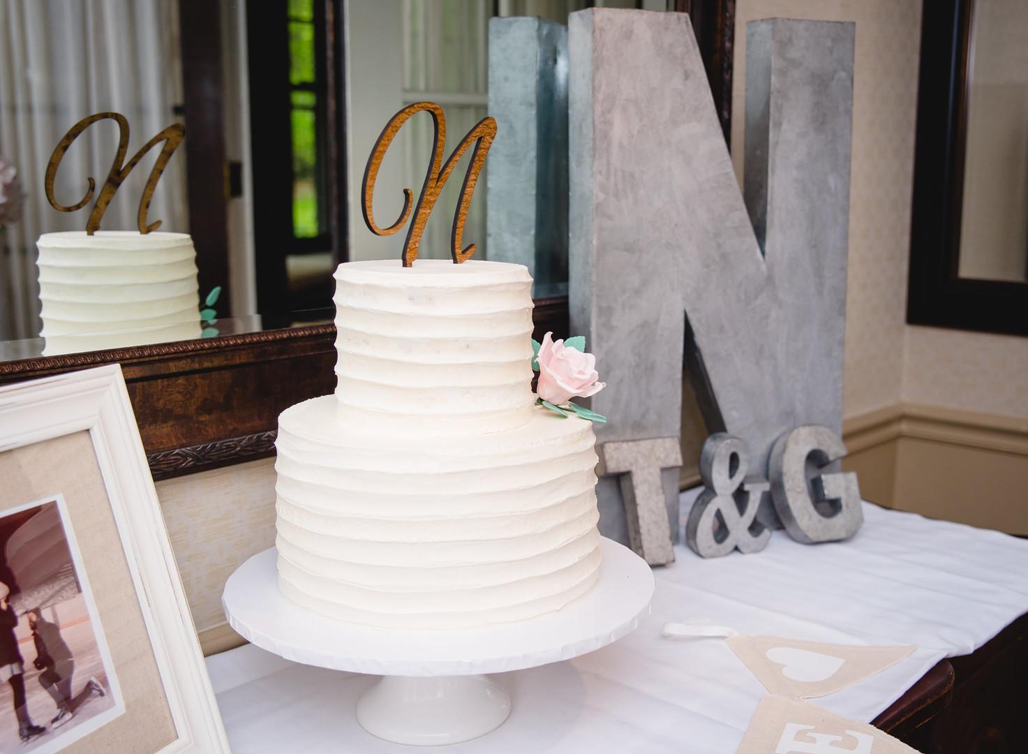 CAKED CT bakery wedding cake