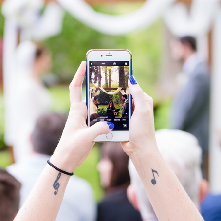 Should You Have An Unplugged Wedding Ceremony? | CT Wedding Photographer