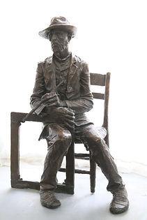 Ван Гог. Скульптор Владимир Курочкин. сайт скульптора: vladkurochkin.ru