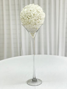 WEDDING MARTINI GLASS HIRE LONDO