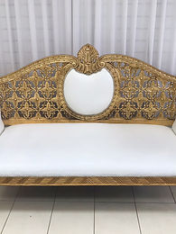 GOLD WEDDING SOFA HIRE
