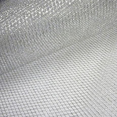 SILVER MESH TABLE THROWOVER HIRE
