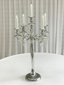 WEDDING CANDELABRA  CENTERPIECE HIRE LONDON