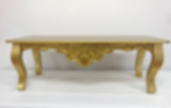 ANTIQUE WEDDING COFFEE TABLE HIRE
