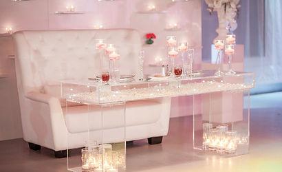 TAC WEDDING ACRYLIC HIGH TABLE
