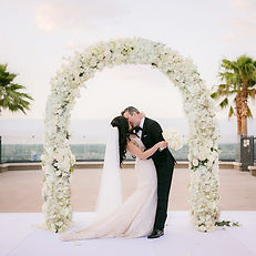 FLOWERED ARCH HIRE