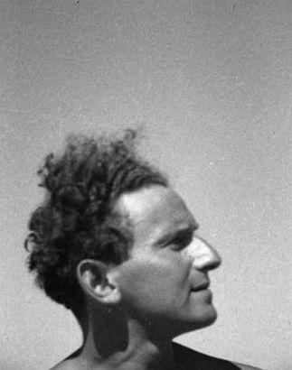 Ze'ev Aleksandrowicz in Palestine, 1935