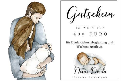 Gutschein für Doula Geburtsbegleitung und Wochenbettpflege
