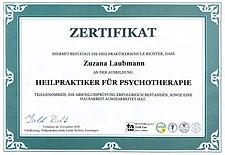 Heilpraktiker für Psychotherapie Isolde RIchter