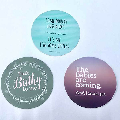 Doula Stickers