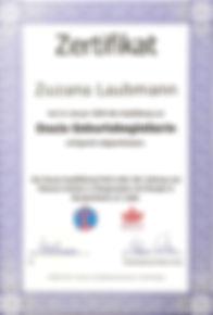 Doulas in Deutschland Ausbildung Zertifikat