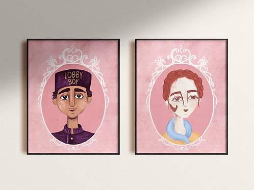 From A to Z Grand Budapest Hotel