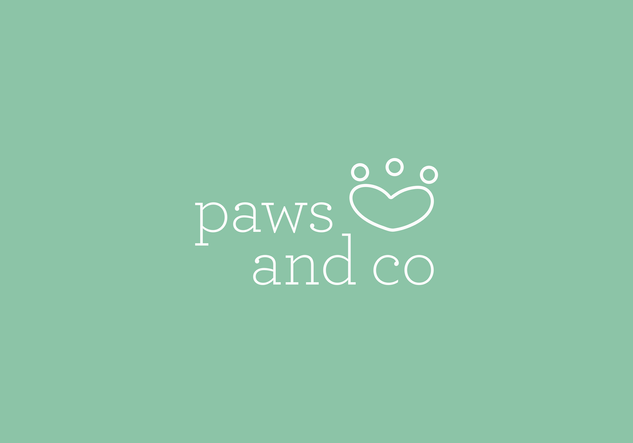 Logotipo Paws and CO