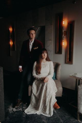 Maggie + Molly | Wedding Portrait